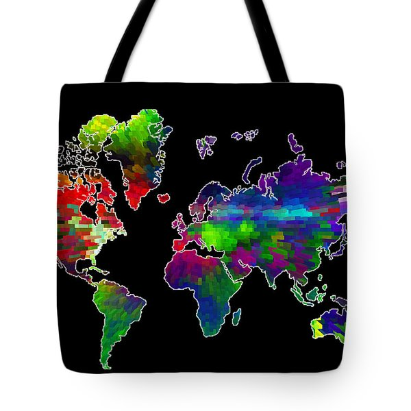 Our Colorful World Tote Bag