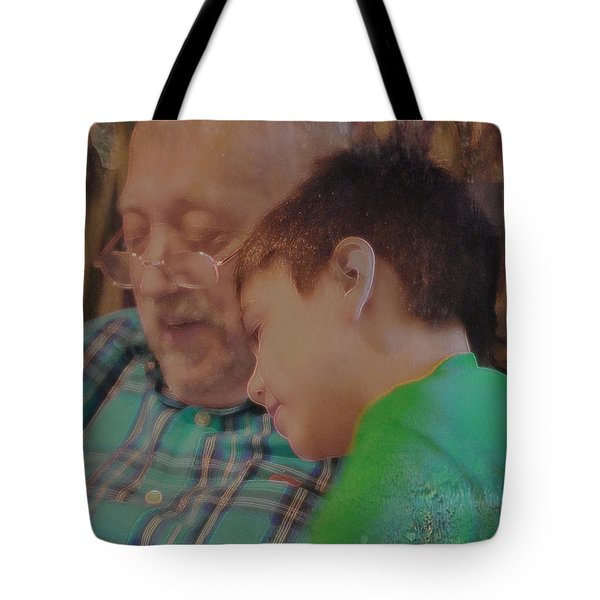 Tote Bag featuring the photograph Our Favorite Game by Kate Word