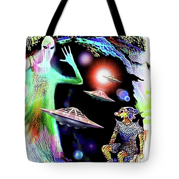 Our Fellow Space Citizens Tote Bag