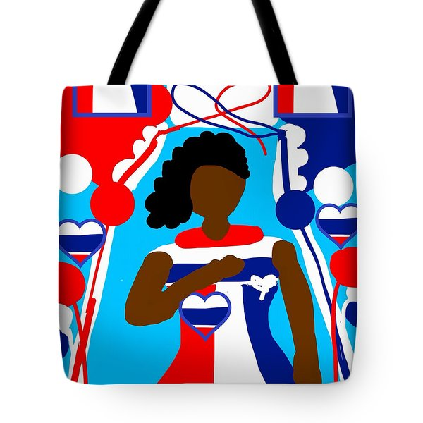 Our Flag Of Freedom 3 Tote Bag