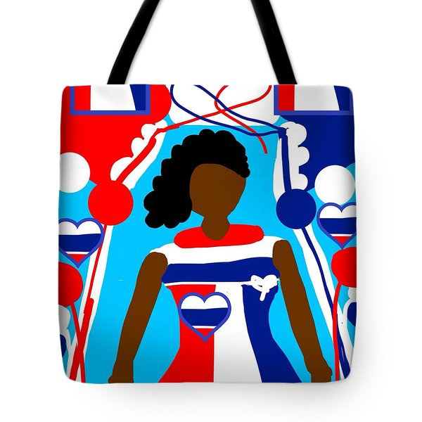 Our Flag Of Freedom  Tote Bag
