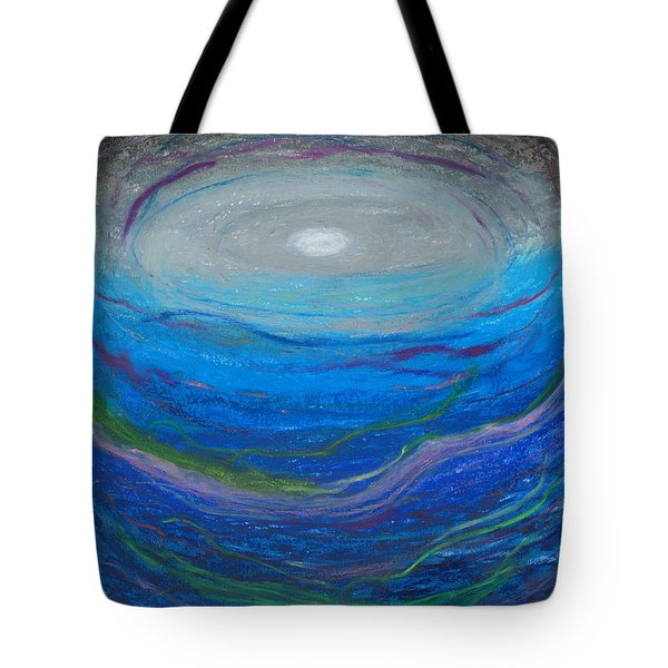 Tote Bag featuring the pastel Our Freindship Runs Deep by Ania M Milo