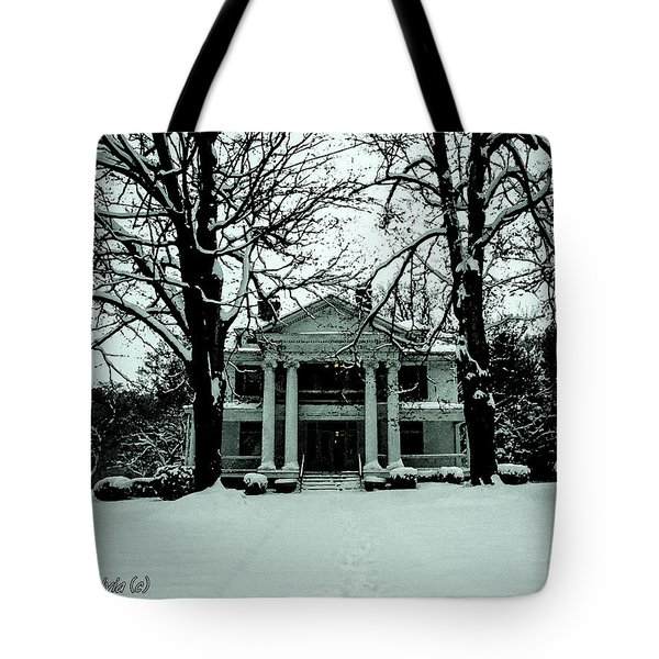 Tote Bag featuring the photograph Our House by Randy Sylvia