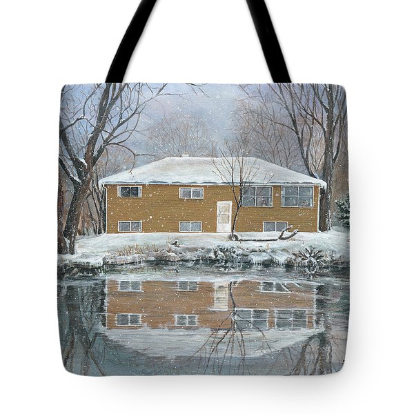 Our House Tote Bag