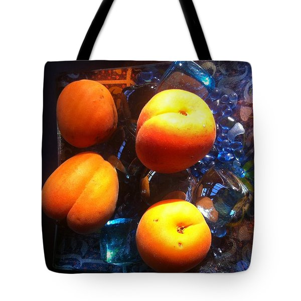 Our Juicy Apricots Tote Bag