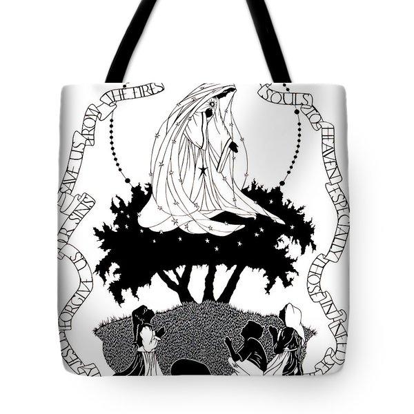Our Lady Of Fatima - Dpolf Tote Bag