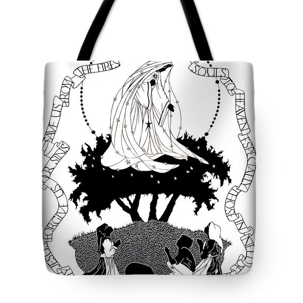Our Lady Of Fatima - Dpolf Tote Bag