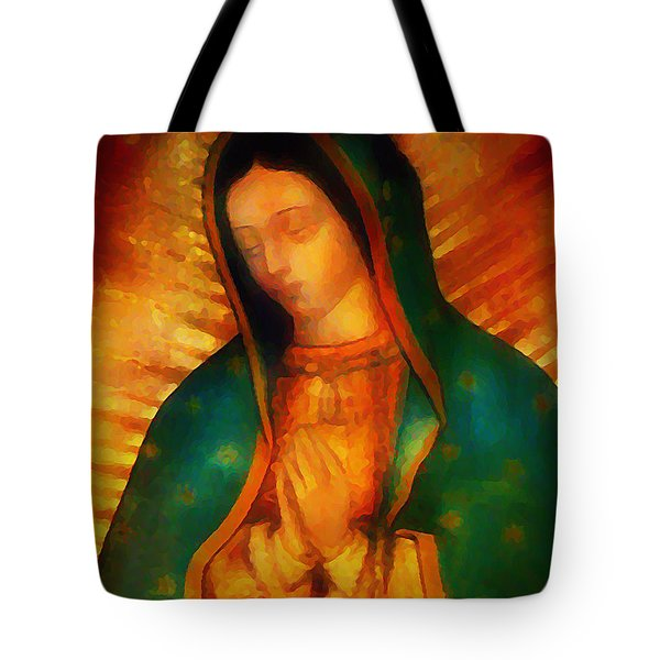 Our Lady Of Guadalupe Tote Bag by Bill Cannon