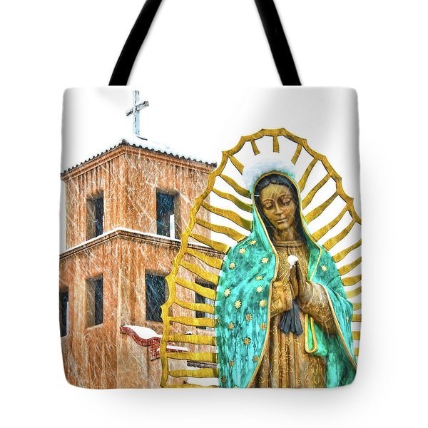 Our Lady Of Guadalupe Tote Bag by Britt Runyon