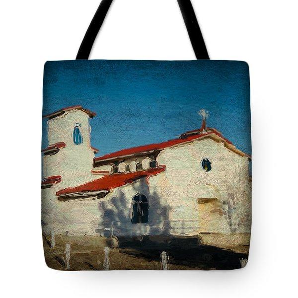 Our Lady Of La Salette Mission Paint Tote Bag