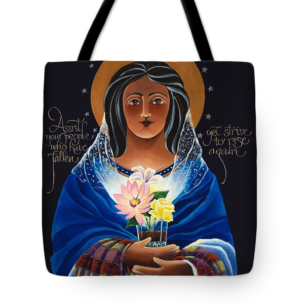 Our Lady Of Light - Help Of The Addicted - Mmlol Tote Bag