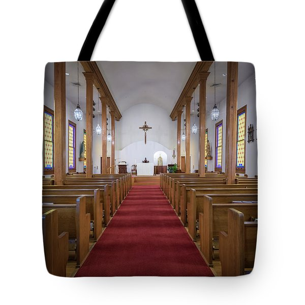 Our Lady Of Mount Carmel Tote Bag