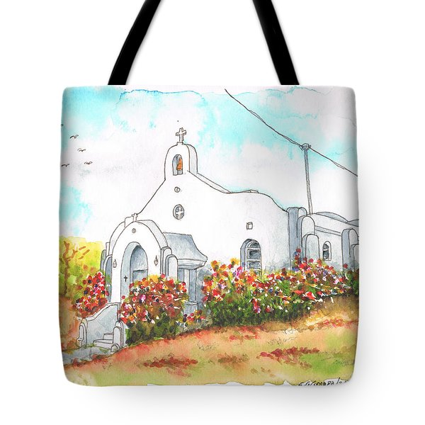 Our Lady Of Mount Carmel Catholic Church, Carmel,california Tote Bag