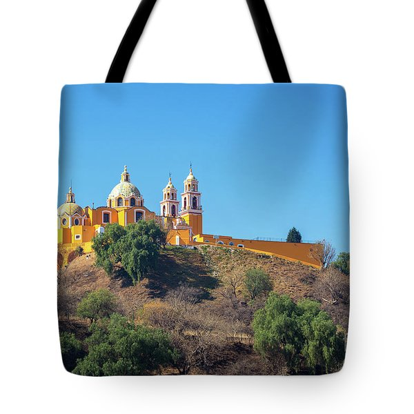 Our Lady Of Remedies Church Tote Bag