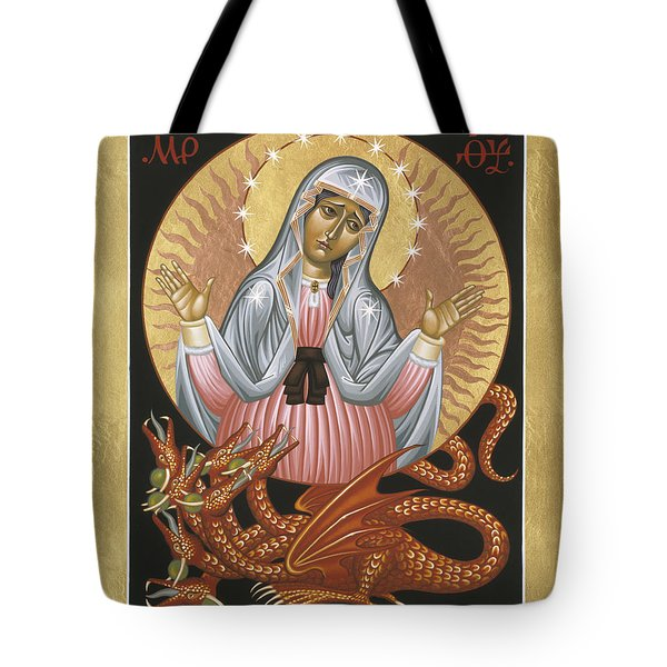 Our Lady Of The Apocalypse 011 Tote Bag