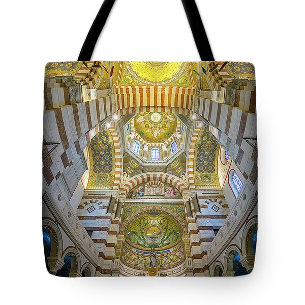 Our Lady Of The Guard Tote Bag