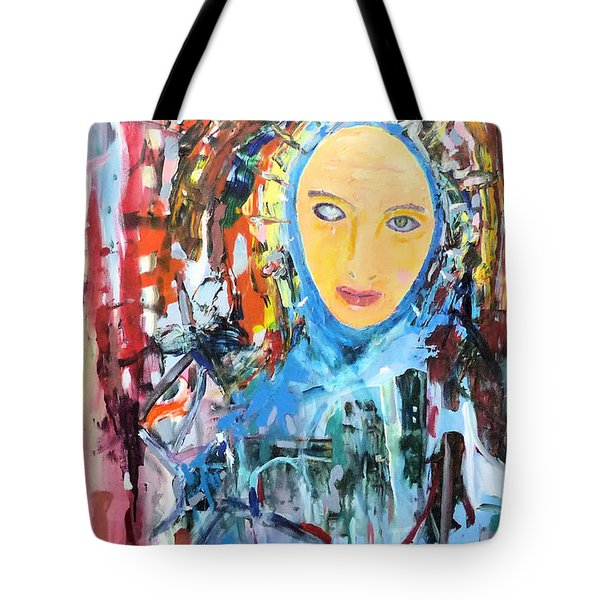Our Lady Of The Left Eye Tote Bag