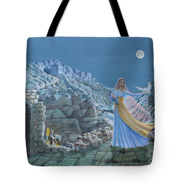 Our Lady Queen Of Peace Tote Bag