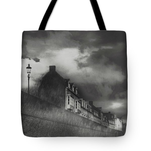 Our Lady Wall Maastricht Tote Bag by Nop Briex