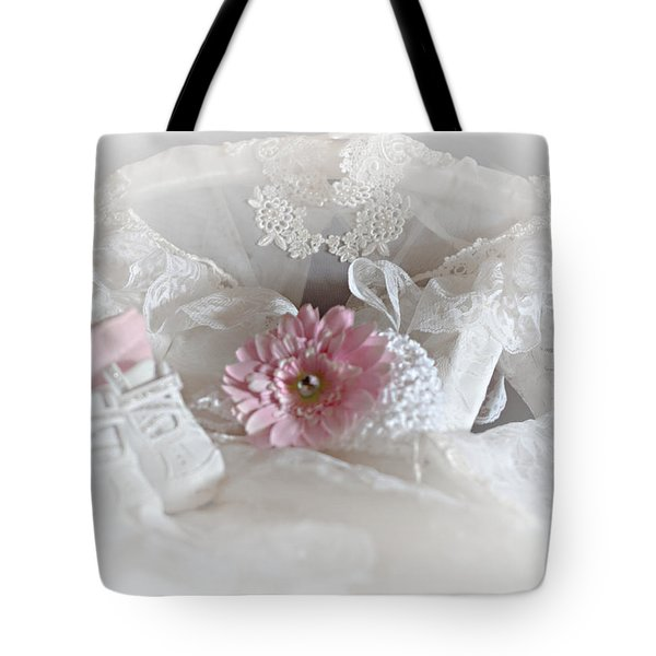 Tote Bag featuring the photograph Our Little Girl Is All Grown Up by Sherry Hallemeier