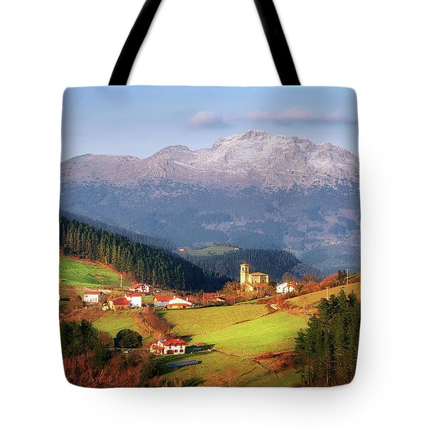 Our Little Switzerland Tote Bag