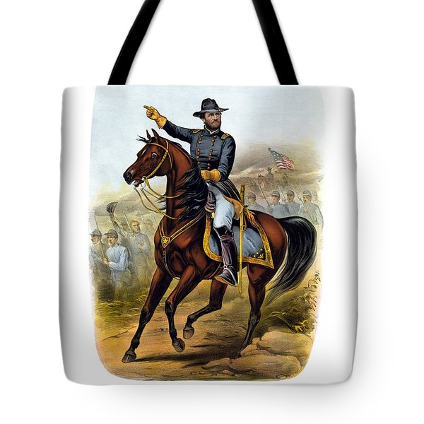 Our Old Commander - General Grant Tote Bag