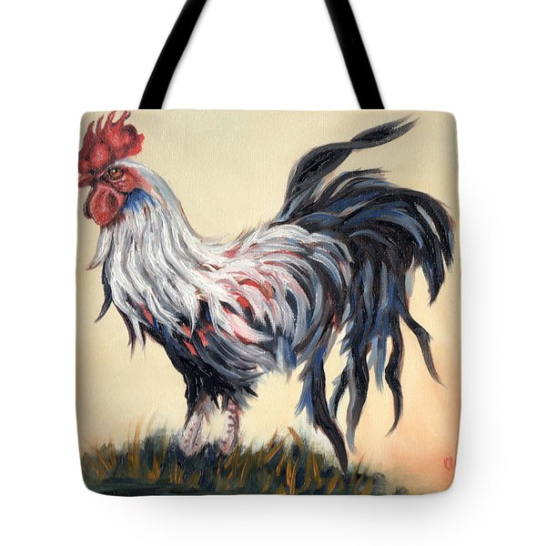 Our Rooster Family Tote Bag