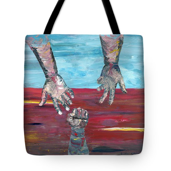 Our Sense Of Peace Is Only As Secure As Our Grasp Of Grace Tote Bag