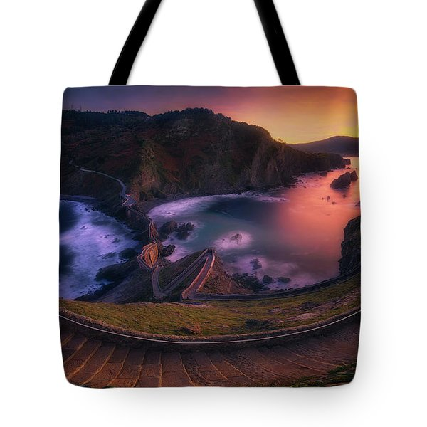 Our Small Wall Of China Tote Bag