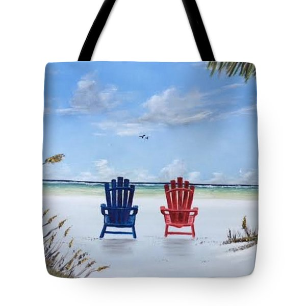 Our Spot On Siesta Key Tote Bag