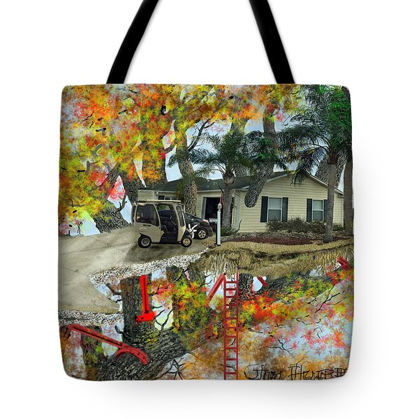 Our Tree House Tote Bag