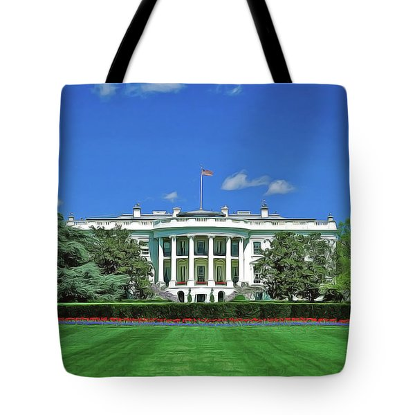 Our White House Tote Bag
