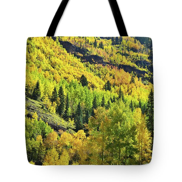Tote Bag featuring the photograph Ouray Canyon Switchbacks by Ray Mathis