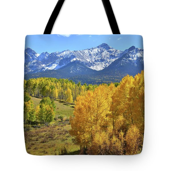 Tote Bag featuring the photograph Ouray County Road 8  by Ray Mathis