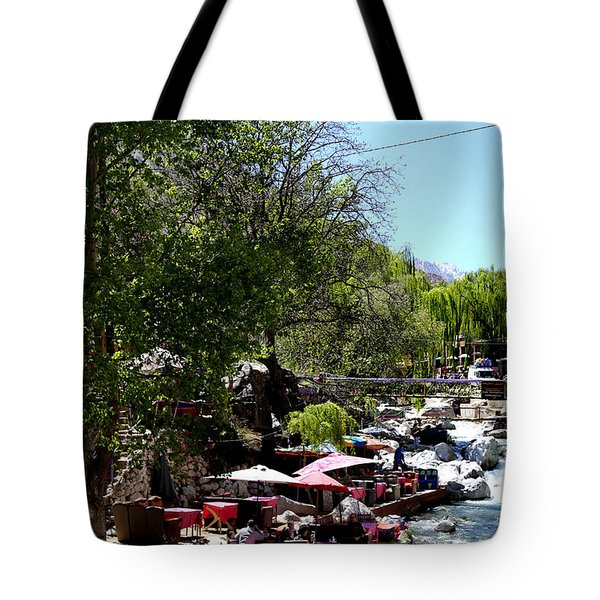 Tote Bag featuring the photograph Ourika Valley 1 by Andrew Fare