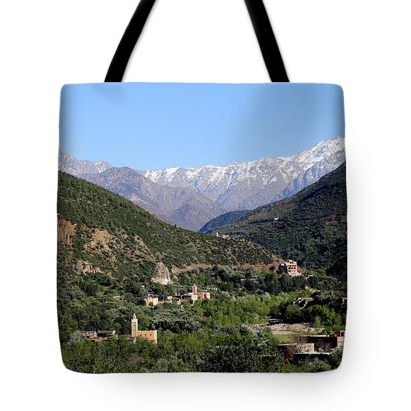 Tote Bag featuring the photograph Ourika Valley 2 by Andrew Fare