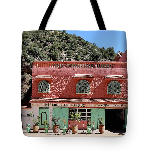 Tote Bag featuring the photograph Ourika Valley by Andrew Fare