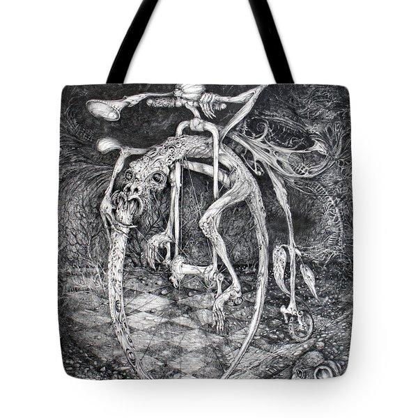 Ouroboros Perpetual Motion Machine Tote Bag