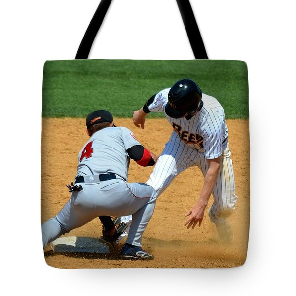Out At Second Tote Bag