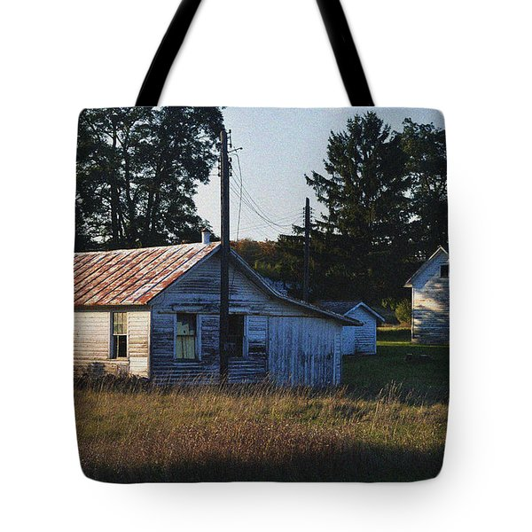 Out Building Tote Bag