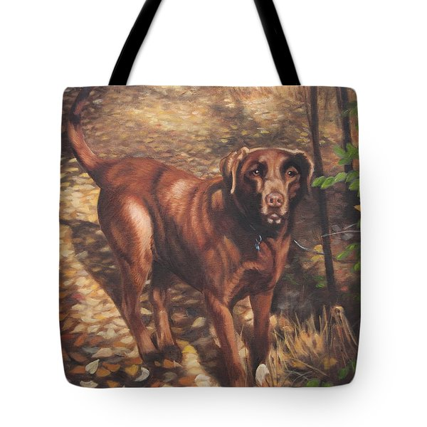 Out For A Walk #2 Tote Bag