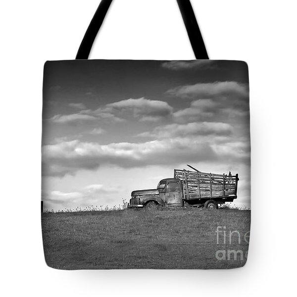 Out For Delivery In Floyd Virginia Tote Bag
