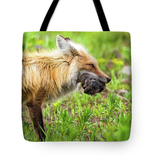 Out Foxed Tote Bag