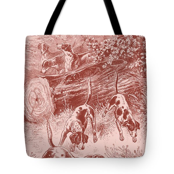 Out Foxing Tote Bag
