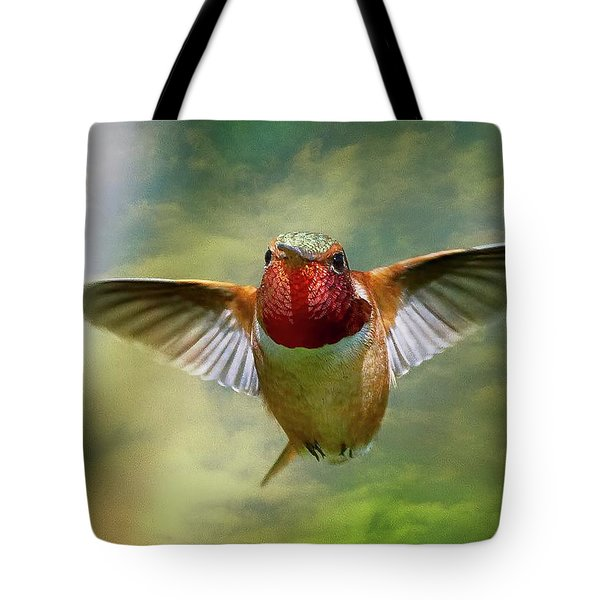 Out From The Clouds Tote Bag