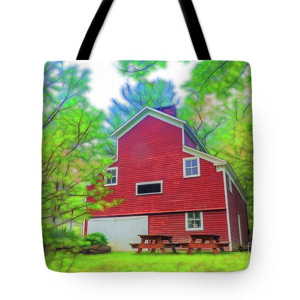 Out In The Country Tote Bag