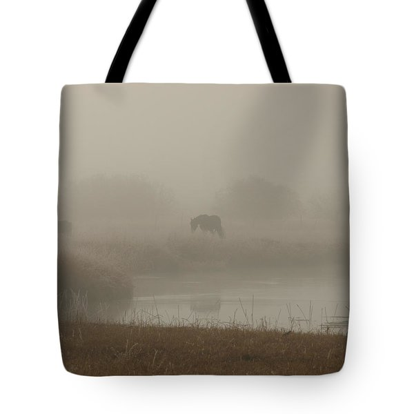 Out In The Fog Tote Bag