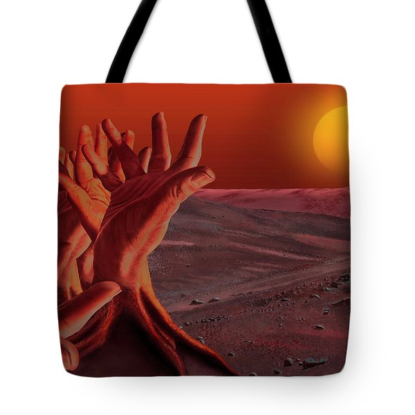 Out Of Hand Tote Bag