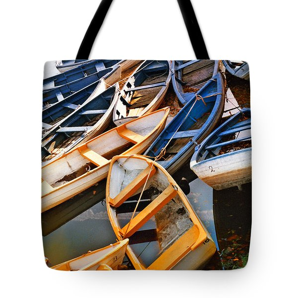 Out Of Season Tote Bag by Robert Lacy