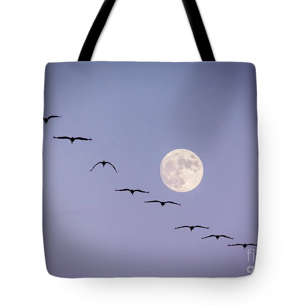 Out Of Sync Tote Bag by Janice Rae Pariza